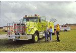 Fire Truck, Open House, Shenandoah National Park, Virginia