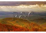 Clearing storm in The Shenandoah Valley, Shenandoah National Park, Virginia