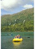 Rafting, Kenai RIver, Cooper Landing, Kenai Peninsula, Alaska