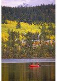 Pyramid Lake, Jasper National Park, Alberta, Canada