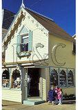 Ice Cream Parlor, Oak Bluffs, Marthas Vineyard, Massachusetts