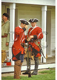 Maryland Colony soldiers, French and Indian War, Fort Frederick State Park, Maryland