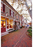 Evening Downtown, Chestertown, Maryland