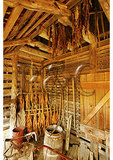 Barn interior, Sotterley Plantation, Hollywood, Maryland