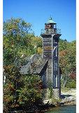 Grand Island Lighthouse, Lake Superior, Pictured Rocks National Lakeshore, Munising, Michigan