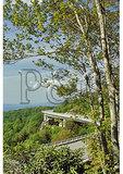 Linn Cove Viaduct, Blue Ridge Parkway, Grandfather Mountain, North Carolina