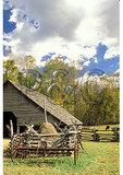 Oconaluftee Pioneer Farmstead, Great Smoky Mountains National Park, North Carolina