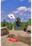 Signal Corps, Little Roundtop, Gettysburg National Military Park, Gettysburg, Pennsylvania