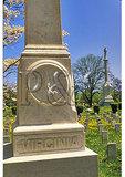Virginia Memorial, Confederate Cemetery, Winchester, Virginia