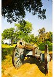 Cannon on Yorktown Battlefield, Colonial National Historical Park, Yorktown, Virginia