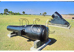 Cannon display, Fort Moultrie, Sullivan's Island, South Carolina