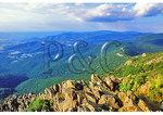 Skyline Drive Seen From Near the Appalachian Trail, Stony Man Mountain, Shenandoah National Park, Virginia