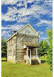 Council House, New Echota Historic Site, Calhoun, Georgia
