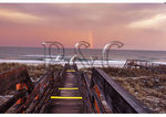 Storm at Sunset over Atlantic Ocean, Pawleys Island, South Carolina