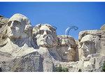 Mt. Rushmore National Memorial, Black Hills, Keystone, South Dakota