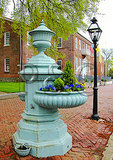 Water trough at Court House, New Castle, Delaware