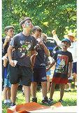 Watermelon seed spitting, Summer Festival, Oak Ridge Estate, Nelson County, Virginia