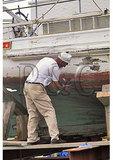 Restoring Historic Skipjack, Chesapeake Bay Maritime Museum, Saint Michaels, Maryland
