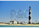 Cape Lookout Lighthouse, Cape Lookout National Seashore, North Carolina