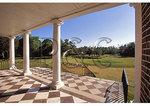 View from front porch, Drayton Hall, Charleston, South Carolina