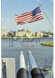 On USS North Carolina, Wilmington, North Carolina