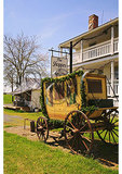 Stagecoach Stop in the Shenandoah Valley of Virginia