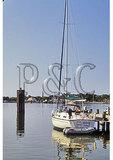 Couple on Boat, Ocracoke, Cape Hatteras National Seashore, North Carolina