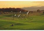 Cutting Hay at Sunset, Dayton, Shenandoah Valley of Virginia