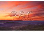 Sunset at Sandy Bottom, Shenandoah National Park, Virginia