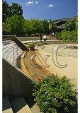 Entrance, North Carolina Arboretum, Asheville, North Carolina