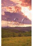 Sunset, Thunder Hill, Blue Ridge Parkway, Blowing Rock, North Carolina