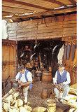 Making a Barrel at Colonial Williamsburg, Virginia