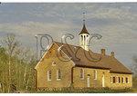 Historic Moravian Meeting House at Bethabara Park, Winston-Salem, North Carolina