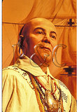 Cherokee Chief, Museum of the Cherokee Indian, Cherokee, North Carolina