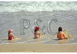 Girls on the beach, Ocracoke Island, Cape Hatteras National Seashore, North Carolina