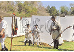 American militia on Yorktown Battlefield, Colonial National Historical Park, Virginia