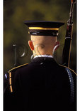 Guard at Tomb of the Unknowns, Arlington National Cemetery, Arlington, Virginia