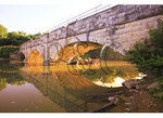 Sunrise at the Aqueduct, C and O Canal National Historic Park, Williamsport, Maryland