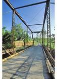 Steel Truss Bridge new New Hope in the Shenandoah Valley of Virginia