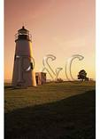 Sunset, Turkey Point Lighthouse, Elk Neck State Park, Northeast, Maryland