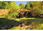 Stone Bridge over Bull Run, Manassas National Battlefield Park, Manassas, Virginia