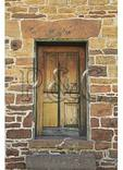 Rear Door of The Stone House, Manassas National Battlefield Park, Manassas, Virginia