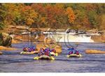 Rafting at Ohiopyle Falls, Youghiogheny River, Ohiopyle State Park, Ohiopyle, Pennsylvania