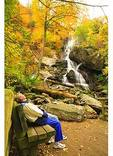 Apple Orchard Waterfall, Blue Ridge Parkway, Virginia