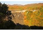 Fontana Lake Dam, Great Smoky Mountains National Park, North Carolina