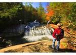 Turtle Back Falls, Horsepasture River, Sapphire, North Carolina
