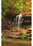 Toms Branch Falls, Deep Creek, Great Smoky Mountains National Park, North Carolina