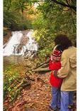 Photographing Indian Creek Falls, Deep Creek, Great Smoky Mountains National Park, North Carolina