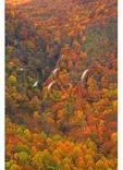 Woodfin Creek Cascades, Blue Ridge Parkway, Sylva, North Carolina