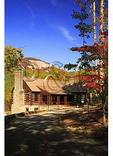 Lodge and Table Rock Mountain, Table Rock State Park, Pickens, South Carolina